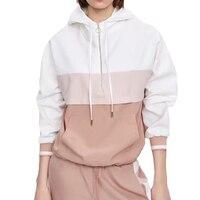 Autumn coat women casual bomber jacket women long sleeve women clothes 2019 white hooded jacket