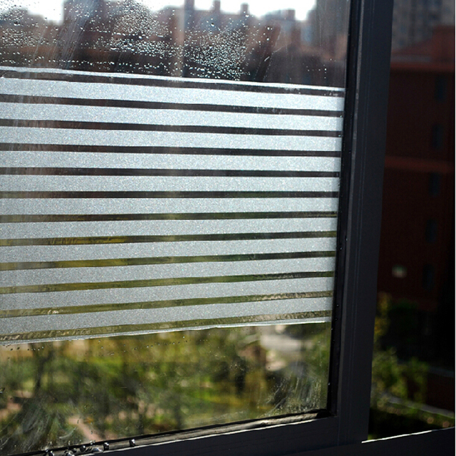 Aliexpress Buy Frosted Static Sliding Door Glass Stickers