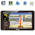 Portable 7 Inch HD Car TRUCK GPS Navigator Sat Nav 800MHZ Bluetooth AV-IN Free Maps Russia/Belarus/Kazakhstan Europe/USA+Canada