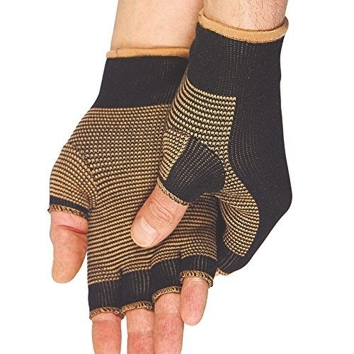Copper Threaded Pain Releiving Arthritis Compression Gloves For Carpal Tunnel, Pain Releif, Computer Typing, And Everyday Support For Hands (3)