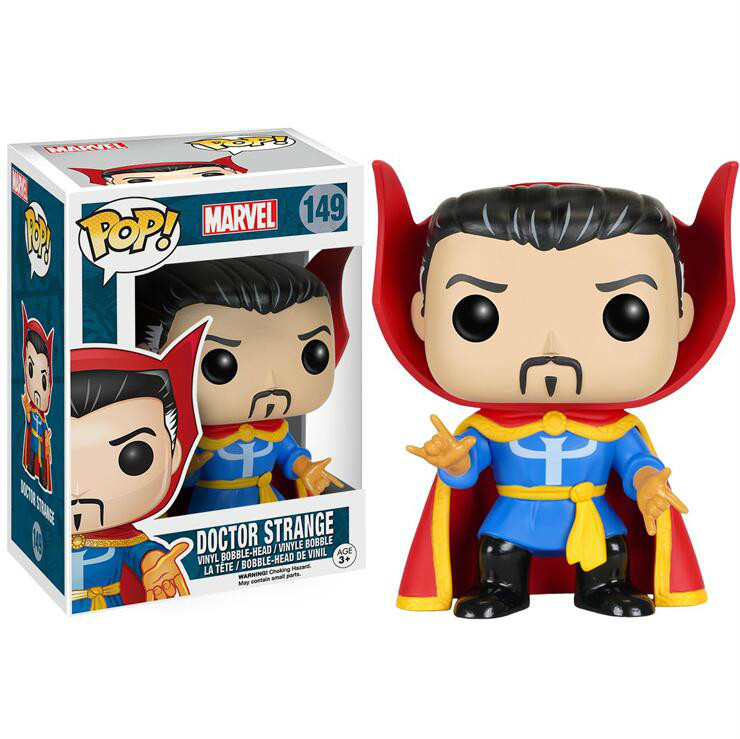 Funko POP Doctor Strange Collection Model Kids Toys Anime PVC 2019 Action Figure Toys For Birthday GiftsFunko POP Doctor Strange Collection Model Kids Toys Anime PVC 2019 Action Figure Toys For Birthday Gifts