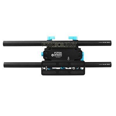 DSLR üçün FOTGA DP3000 15mm Rail Rod Advanced QR Baseplate - Kamera və foto - Fotoqrafiya 5