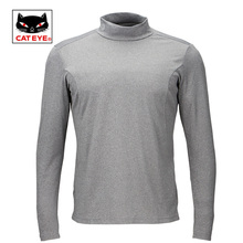 Cateye Cycling Sweat Shirt Jersey Bicycle Autumn Winter Sports Warm Long Sleeved Underwear Shirts Quick Dry Riding Equipment