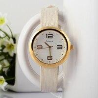 Proste Moda Koreański Stylowe Kobiety Neutralne Zegarki Kwarcowe Śmieszne Wymienny Dziewczyny Studenci Zegarek Srebrny Skóry Relojes S029