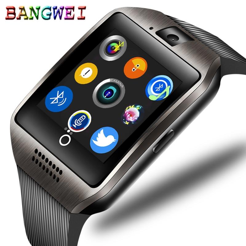 ae4548e411b Comprar BANGWEI Alarme Relógio Bluetooth Relógio Inteligente Ligação  Reprodução de Música Do Telefone Móvel Anti perdido Apoio TF SIM Câmera  Relógio ...