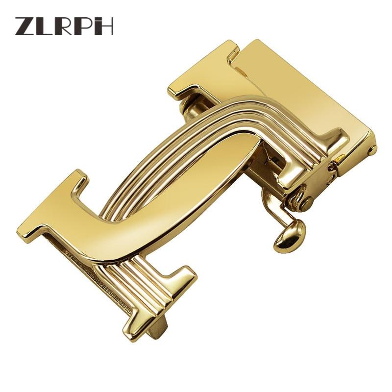 ZLRPH New Automatic Buckle Belt  Head Men's Belt Buckle Galvanized Alloy Dongguan Buckle