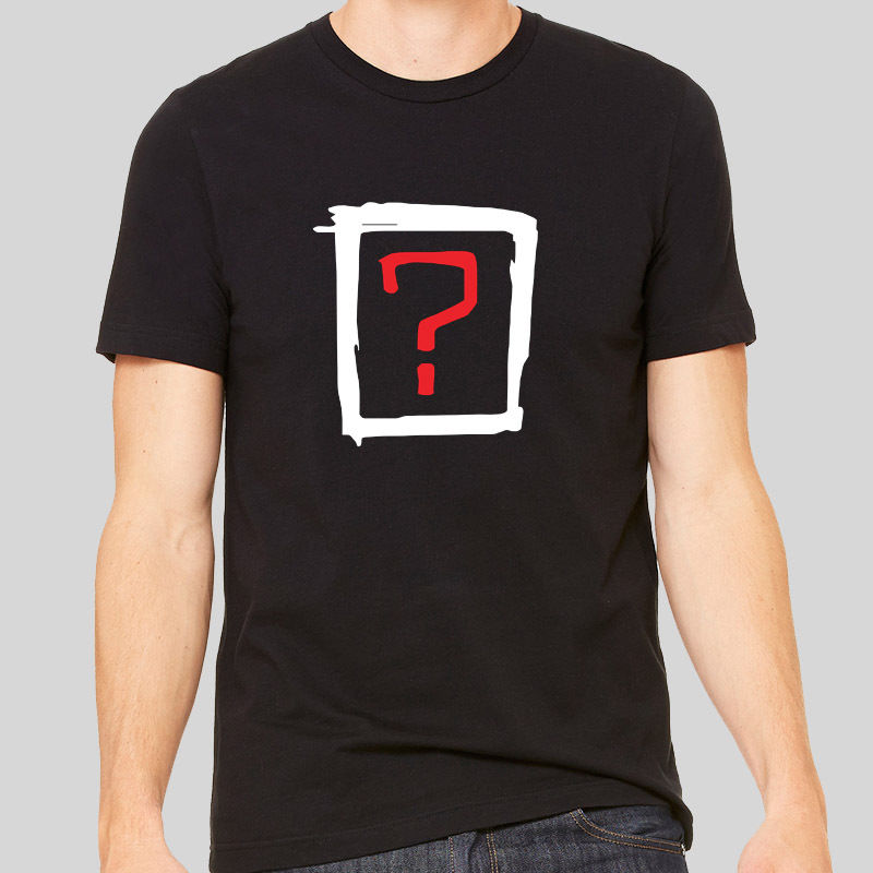 2018 Where Is The Love Symbol Sign Retro Question Mark Top T-shirt Unisex Men Tee Men T Shirt Print Cotton Short Sleeve T-shirt