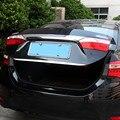 Подходит для Toyota Corolla 2014 2015 2016 2017 Задняя Крышка багажника край багажника Дверь Нижняя крышка отделка формовочная полоса