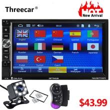 Mirror Link Car Radio With Bluetooth 7″ 1024*600 Double Din Car Mp5 Player Stereo Radio FM Audio Radio Video Player Rear Camera