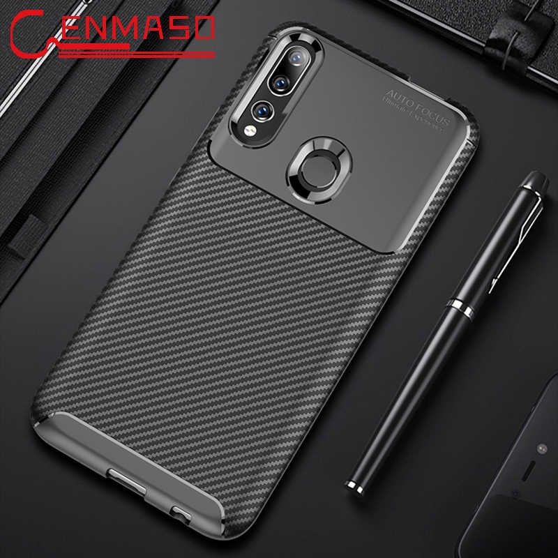 For Huawei P Smart 2019 Case for Huawei Y9 Prime Y6 Y5 Y7 2019 2018 P Smart Z Y6 Pro Carbon Fiber Texture Soft full Back Case