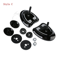 10mm Inner Fairing Mount Mirrors For Harley Touring Batwing Fairing Street Glide Tri Glide Ultra Limited 2014-2017 15 5