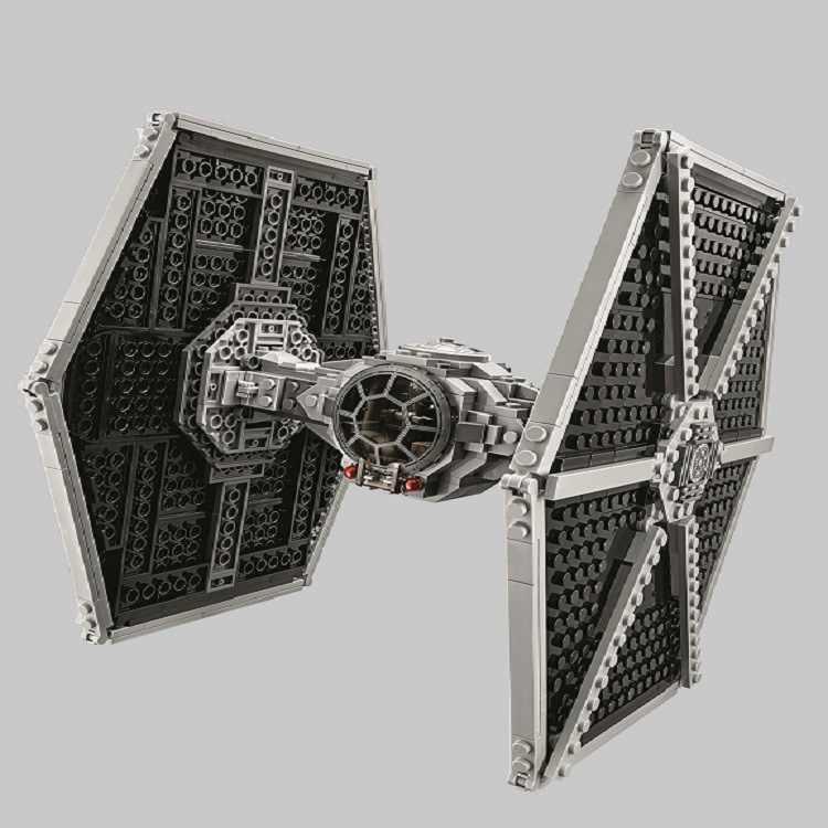 Совместим с Lepining Star Wars серии имперский галстук боец строительный блок 550 шт Кирпичи Игрушки
