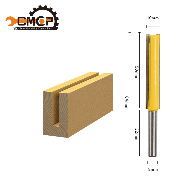 CMCP! 1pc router bit 1/4 shank /handle lengthened Straight Knife Flush Trim Pattern Router Bit knife for wood ontario knife rat 1