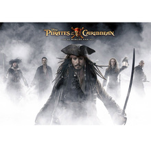 5d diamond Embroidery Pirates of the Caribbean diy painting cross stitch for children puzzle mosaic crafts Y0639