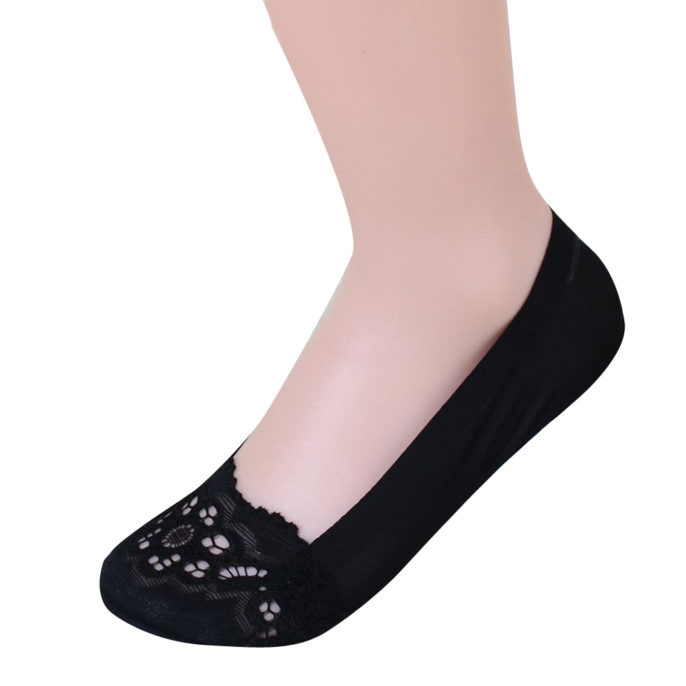 ChamsGend Chic Woman Lady Girls British Style Invisible Socks Shallow Mouth Socks compression socks 180122 #11