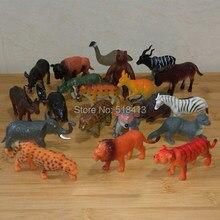 20 selvagem animal modelo de brinquedo tigre floresta família boneca acessórios crianças jogar brinquedos unisex animais plástico 2021