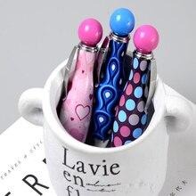 1 pcs Novel creative mini portable ballpoint pen Kids gift Cute short cartoon Office School Writing