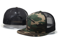 2017 New Fashion Blank Mesh Camo Snapback Hats Adjustable Gorras Hip Hop Casual Baseball Caps For