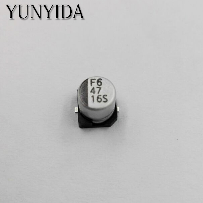 Free Shipping 20pcs  16V 47UF  5*5.5mm SMD Aluminum  Electrolytic Capacitor