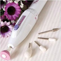 Professinal Mini Pen Electric Nail Art Manicure Set Tools Nail Care Manicure Machine with 6 Grind Tools for Polish Sand Drill A8