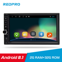 7 Touch Screen 2 Din Universal Android 8.1 Car Multimedia Player Car DVD Audio Stereo Radio GPS Navi Video Bluetooth FM WIFI swm a2 2din 7 touch screen android 8 1 car radio stereo video mp5 player gps navi bluetooth wifi usb tf mp4 multimedia player