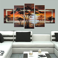 100 Handmade Modern Landscape Oil Painting On Canvas Wall Art Wall Pictures For Living Room Pinturas