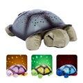 Romántico proyector de estrellas, guía, lámpara de la tortuga, niños luces del sueño, navidad, regalo de san valentín, envío gratis