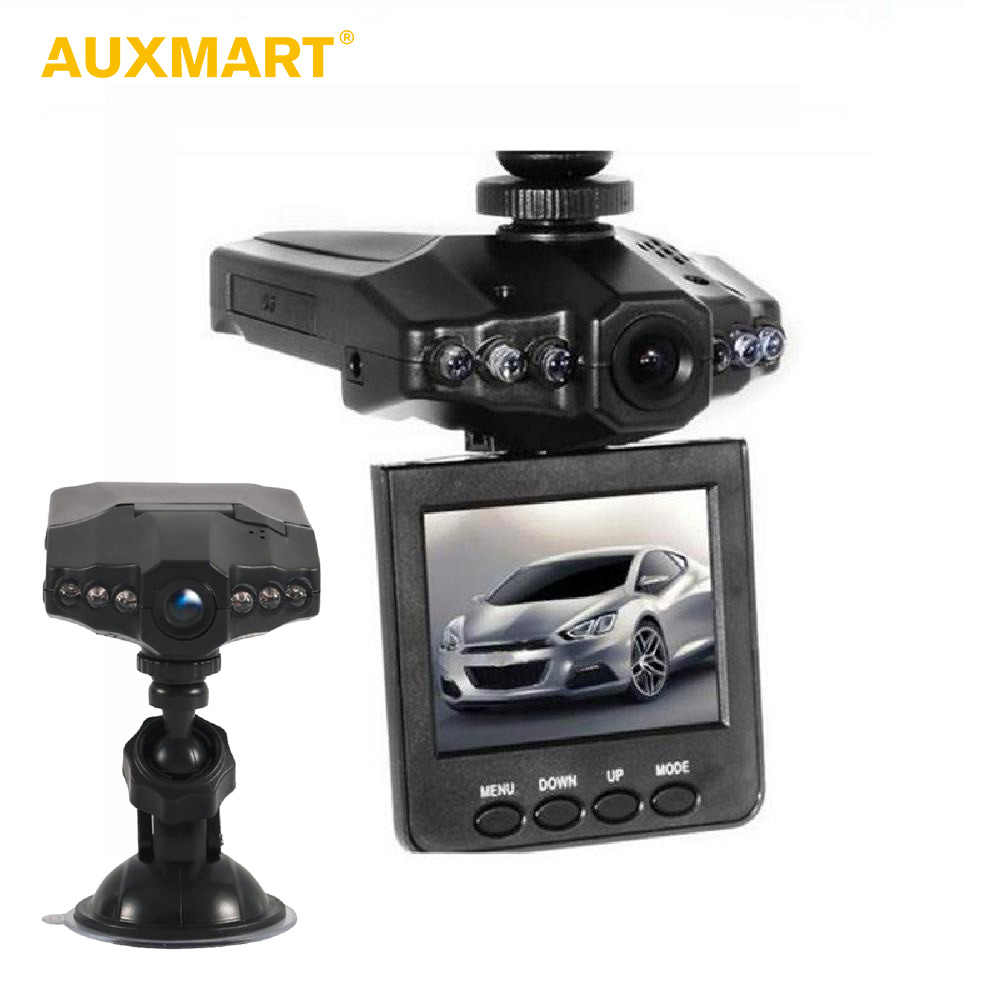 Auxmart Car DVR Camera Full HD 1080P 270 Degree Dashcam Video Registrars for Cars Night Vision Driving Recorder Dash Cam