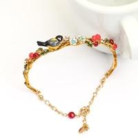 Les Nereides de pássaro pulseira pulseiras para mulheres pulseira de boa qualidade