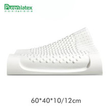 60x40 Thailand Pure Natural Latex Pillow Remedial Neck Protect Vertebrae Health Care Orthopedic Oreiller Slow Rebound ZX-M005