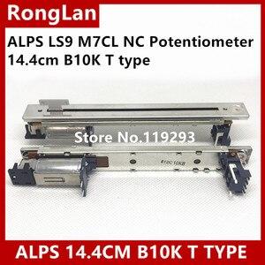 Image 1 - [BELLA]New Japan ALPS faders Original LS9 M7CL NC Potentiometer 14.4cm B10K T type handle electric mixer fader  5PCS/LOT