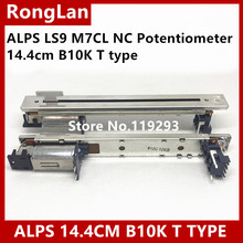 [BELLA] Новые Японские Альпы faders Оригинал LS9 M7CL NC потенциометр 14,4 см B10K Т Тип ручка электрический миксер фейдер    5 шт./лот