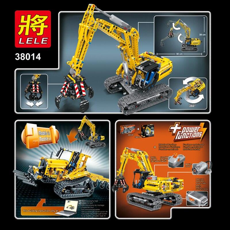 Legoed technic LepinS ville Construction pelle jouet saisir modèle kit speelgoed bloc de Construction brique Legoing jouets cadeau de noël - 4