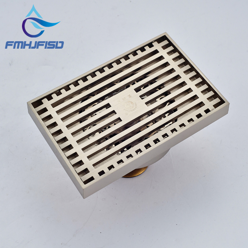 Hot Sale Wholesale And Retail Promotion Brushed Nickel Bathroom Shower Drain Grate Waste Floor Drain hot sale wholesale and retail promotion brushed nickel bathroom shower drain grate waste floor drain