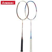 100% Original Kawasaki Carbon Badminton Rackets Ball Control Type Racquet for Primary Players Single Racket Explore X160