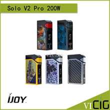 100% Original IJOY Solo V2 Pro 200W Kit With ELF Tank and Solo V2 PRO MOD Powerd by 18650 Battery