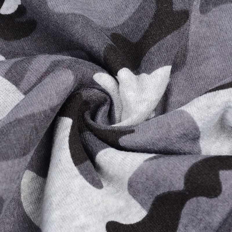 Laamei Camouflage Hoodies Men 2019 New Fashion Sweatshirt Male Camo Hoody Hip Autumn Winter Military Casual  Hoodie