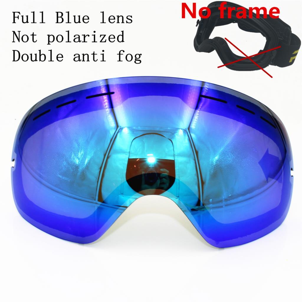 Blue lens (No frame)