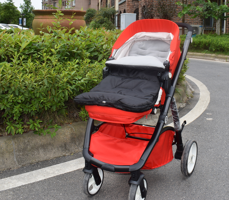 3 In 1 Windproof Babies Sleeping Bag Cold-proof Stroller Mat Foot Cover Baby Pram Sleeping Sacks Sacos Para Cochecito Voetenzak
