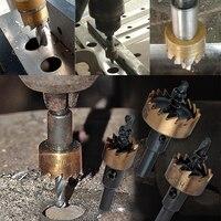 Hakkin 25 35 65mm M2 HSS Carbide Tip Drill Bit Hole Saw Metal Hole Opener Cutter