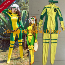 Descripción de Disfraz Rogue (Pícara) Bodysuit. X-Men