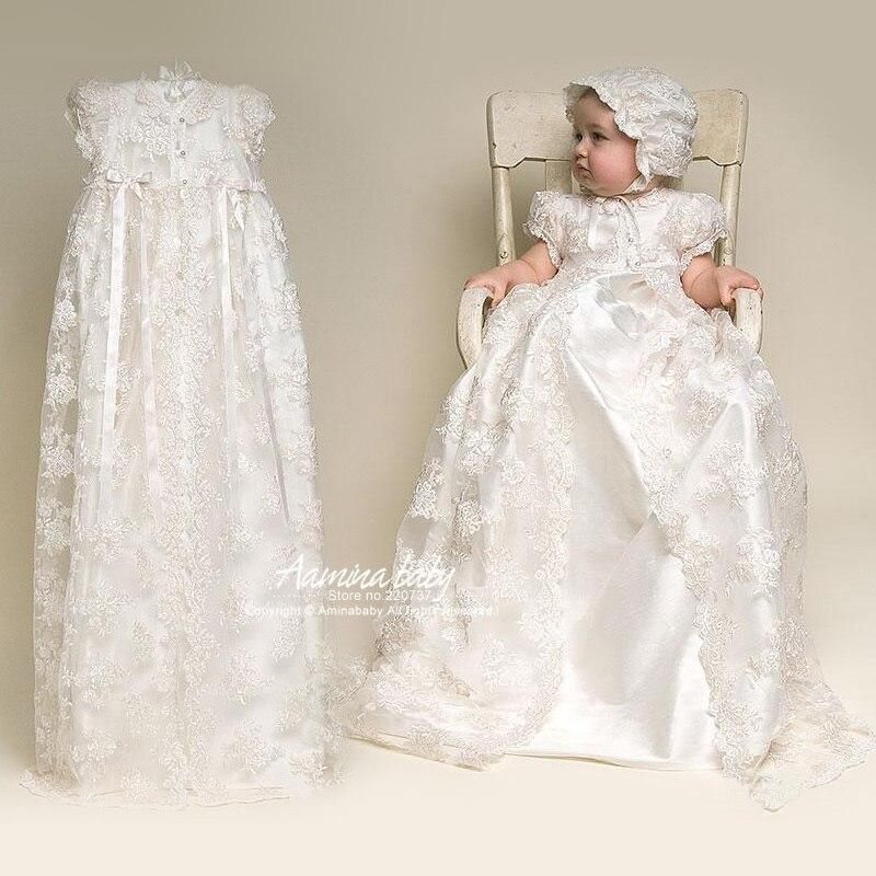 Nouveau-né robe de princesse mariage bébé filles robe de bal infantile filles 1 an anniversaire robe de baptême en gros bébé boutique vêtements