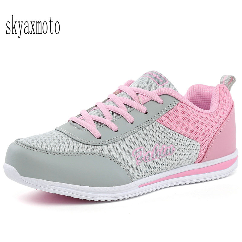 Skyaxmoto Women Running Shoes Height Increasing Sports Light Shoes Platform Health Lose Weight Women Breathable Sneakers