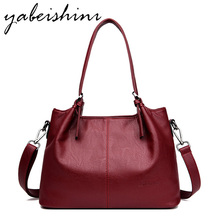 2019 New Women Handbag Ladies Messenger Bag Feminina Bolsa  Luxury Big Tote Designer Women Shoulder Bag Sac A main Lady Handbag цены
