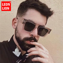 LeonLion 2020 Luxury Classic Square Sunglasses Women Brand D