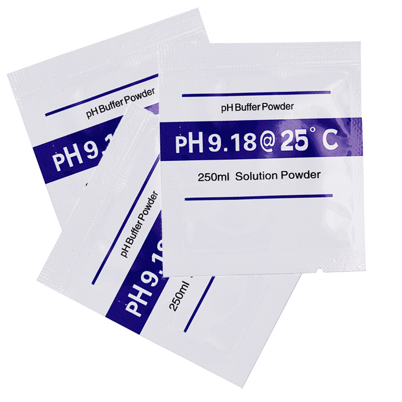 20pcs standard solution buffer reagent powder PH buffer 9.18 PH for water quality tester tools 10%off