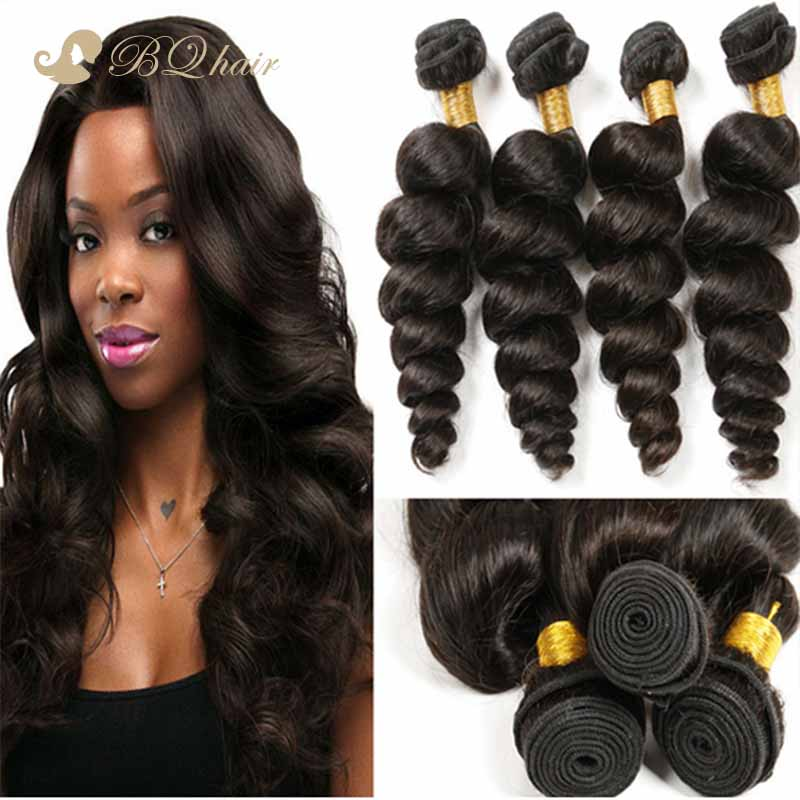 6A Unprocessed Brazilian Virgin Hair Loose Wave 4pcs/lot New Arrival Rosa Human Hair Extension Cheap Virgin Hair loose wave