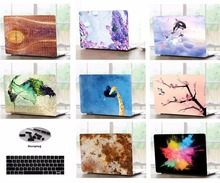 Print Shell Case Keyboard Cover Dust Plugs For 11 13