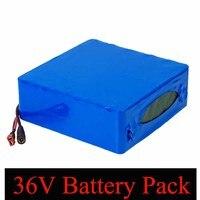 Liitokala 36 V 30AH литиевая батарея 36 v 30000 mAh 18650 батареи для электрического велосипеда с 42 v 30A BMS защитой