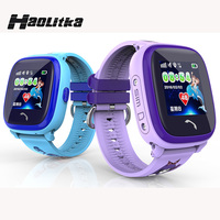DF25 Child Smartwatch IP67 Swim GPS Touch Phone Smart Watch SOS Call Location Device Tracker Kids